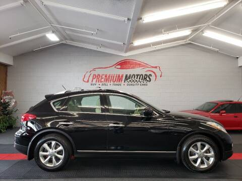 2008 Infiniti EX35 for sale at Premium Motors in Villa Park IL