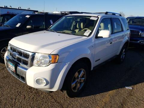 2008 Ford Escape for sale at LUXURY IMPORTS AUTO SALES INC in North Branch MN