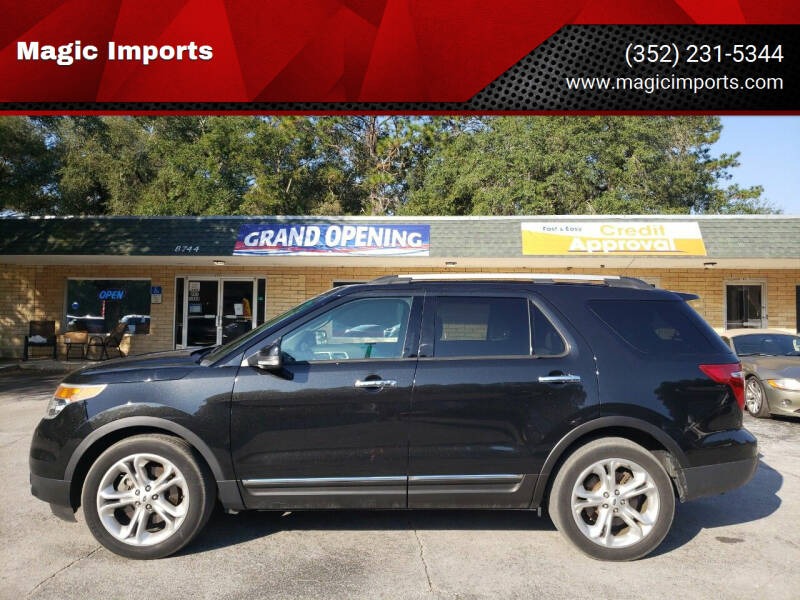 2015 Ford Explorer for sale at Magic Imports in Melrose FL