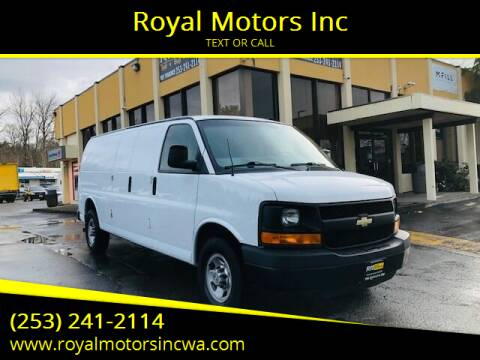 2014 Chevrolet Express Cargo for sale at Royal Motors Inc in Kent WA