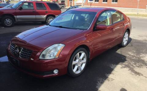 2004 Nissan Maxima for sale at B&T Auto Service in Syracuse NY
