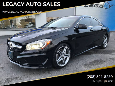 2014 Mercedes-Benz CLA for sale at LEGACY AUTO SALES in Boise ID