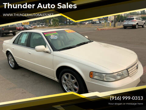 2001 Cadillac Seville for sale at Thunder Auto Sales in Sacramento CA