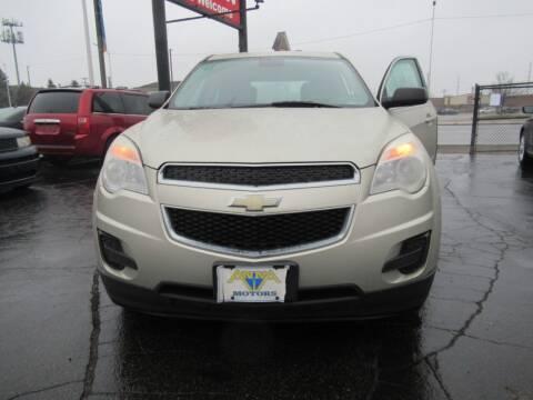 2013 Chevrolet Equinox for sale at Bi-Rite Auto Sales in Clinton Township MI