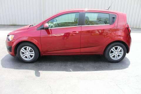 2014 Chevrolet Sonic for sale at Lansing Auto Mart in Lansing KS