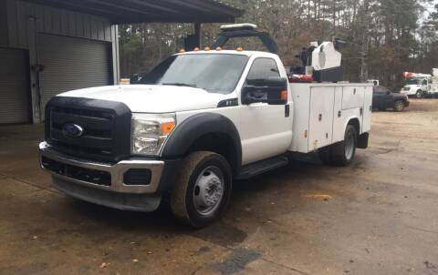 2014 Ford F-550 Super Duty for sale at M & W MOTOR COMPANY in Hope AR