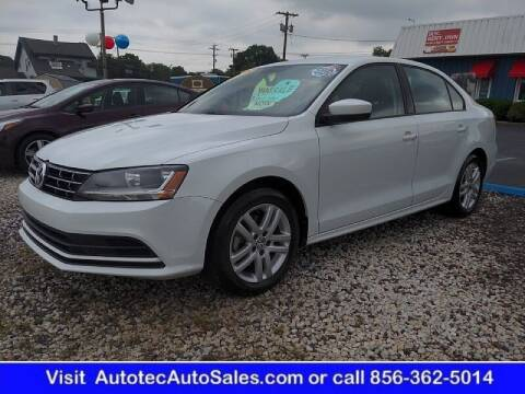 2018 Volkswagen Jetta for sale at Autotec Auto Sales in Vineland NJ