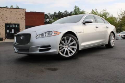 2013 Jaguar XJ for sale at Atlanta Unique Auto Sales in Norcross GA