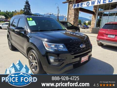 2016 Ford Explorer for sale at Price Ford Lincoln in Port Angeles WA