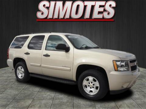 2009 Chevrolet Tahoe for sale at SIMOTES MOTORS in Minooka IL