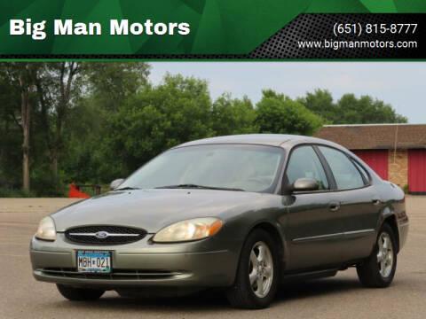 2003 Ford Taurus for sale at Big Man Motors in Farmington MN