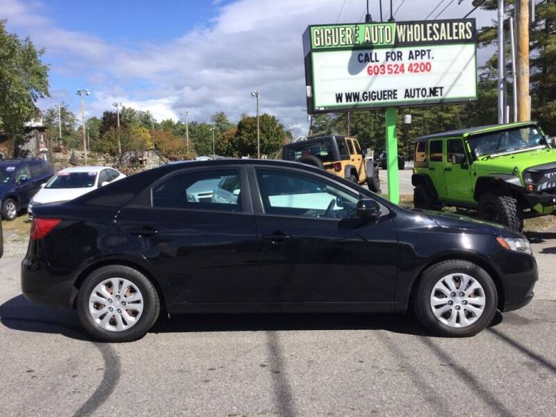2013 Kia Forte for sale at Giguere Auto Wholesalers in Tilton NH