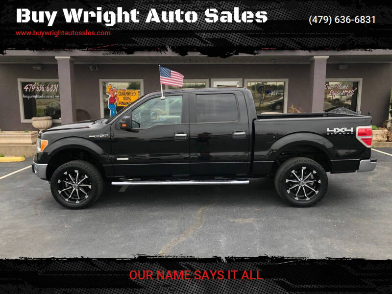 2011 Ford F-150 for sale at Buy Wright Auto Sales in Rogers AR