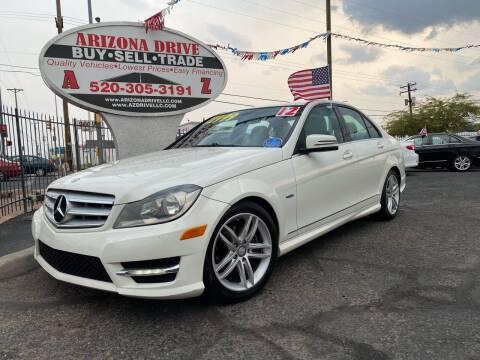 2012 Mercedes-Benz C-Class for sale at Arizona Drive LLC in Tucson AZ