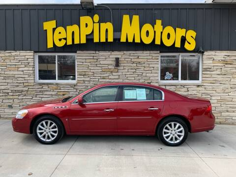 2008 Buick Lucerne for sale at TenPin Motors LLC in Fort Atkinson WI