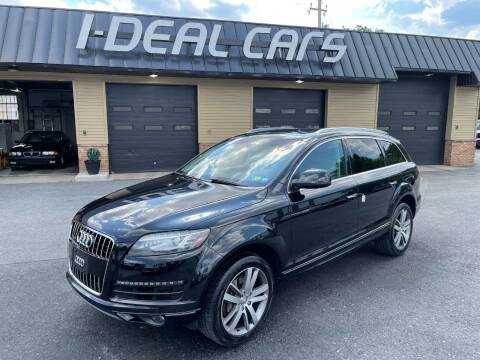 2013 Audi Q7 for sale at I-Deal Cars in Harrisburg PA