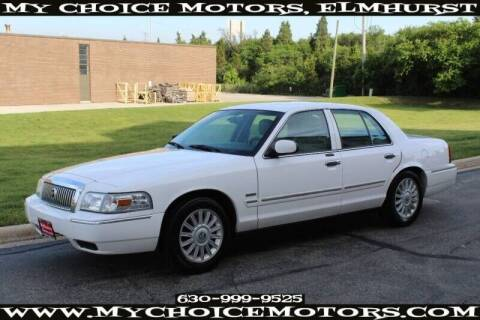 2009 Mercury Grand Marquis for sale at My Choice Motors Elmhurst in Elmhurst IL