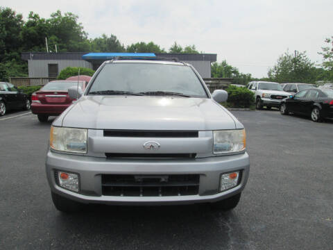 2001 Infiniti QX4 for sale at Olde Mill Motors in Angier NC