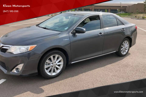 2012 Toyota Camry Hybrid for sale at Klean Motorsports in Skokie IL