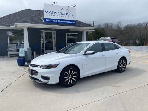 2018 Chevrolet Malibu for sale at Maryville Auto Sales in Maryville TN