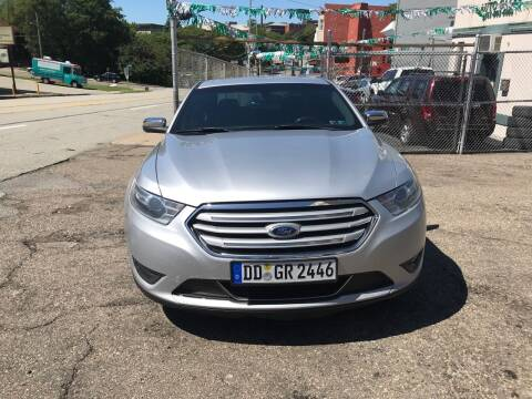 2015 Ford Taurus for sale at MG Auto Sales in Pittsburgh PA