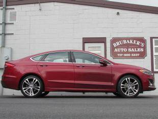 2019 Ford Fusion for sale at Brubakers Auto Sales in Myerstown PA