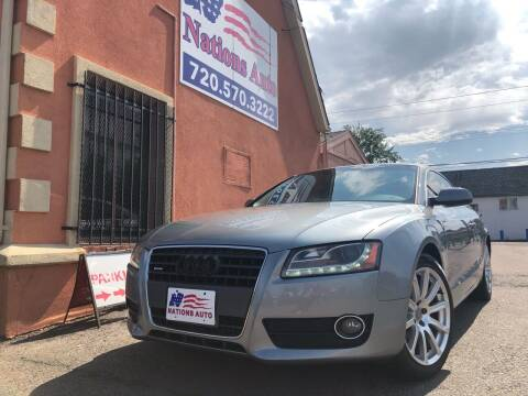 2011 Audi A5 for sale at Nations Auto Inc. II in Denver CO