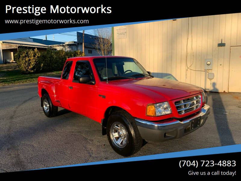 2002 Ford Ranger for sale at Prestige Motorworks in Concord NC