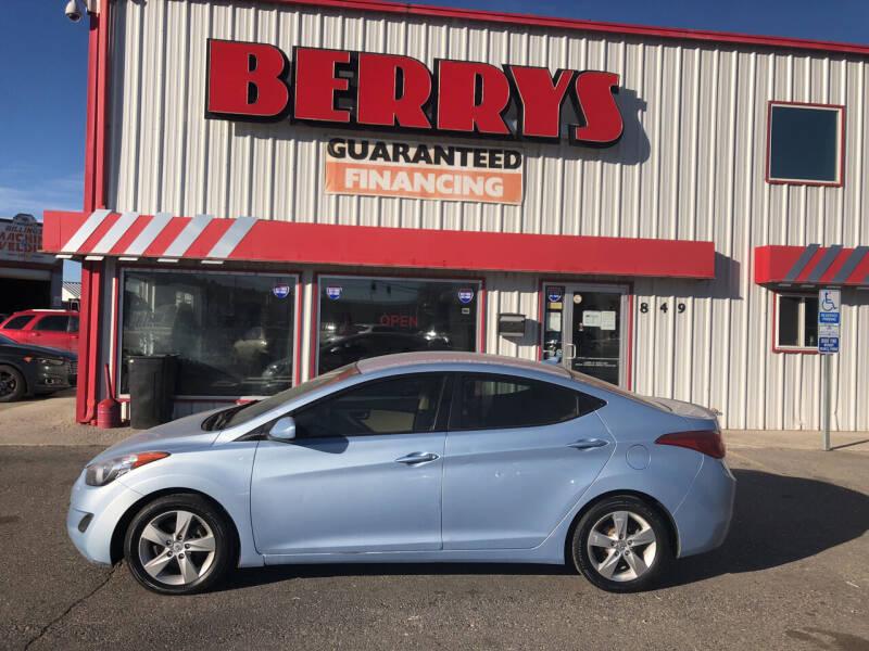 2011 Hyundai Elantra for sale at Berry's Cherries Auto in Billings MT