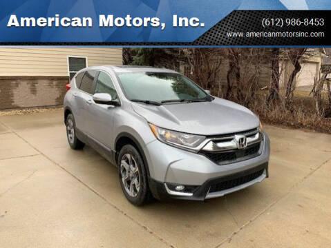 2019 Honda CR-V for sale at American Motors, Inc. in Farmington MN
