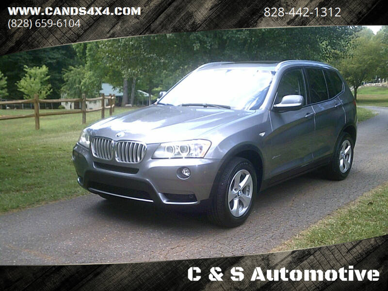 2011 BMW X3 for sale at C & S Automotive in Nebo NC