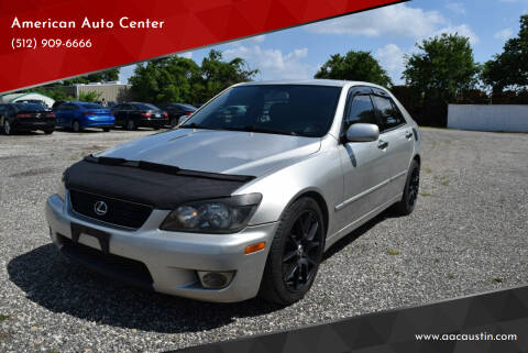 2005 Lexus IS 300 for sale at American Auto Center in Austin TX