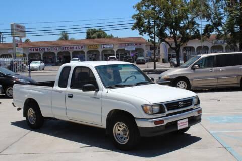 1996 Toyota Tacoma for sale at Car 1234 inc in El Cajon CA