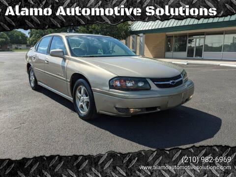2004 Chevrolet Impala for sale at Alamo Automotive Solutions in San Antonio TX