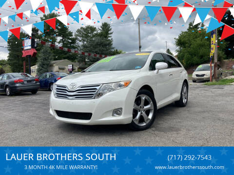 2009 Toyota Venza for sale at LAUER BROTHERS SOUTH in York PA