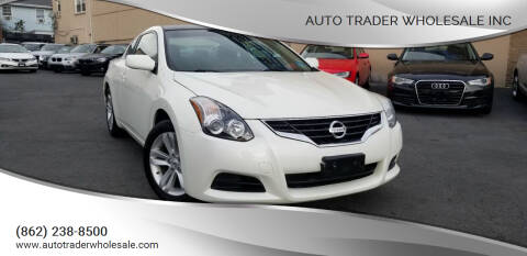2013 Nissan Altima for sale at Auto Trader Wholesale Inc in Saddle Brook NJ