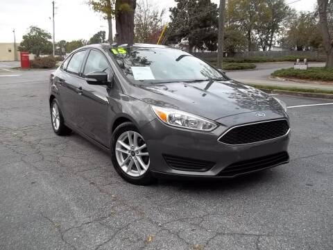 2015 Ford Focus for sale at CORTEZ AUTO SALES INC in Marietta GA