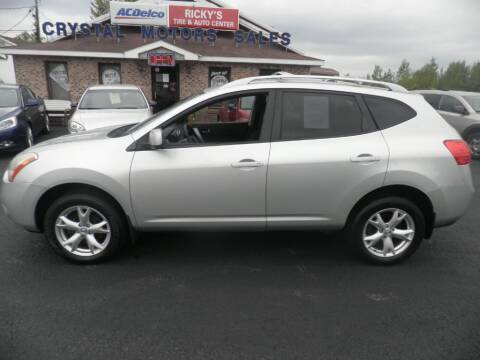 2009 Nissan Rogue for sale at CRYSTAL MOTORS SALES in Rome NY