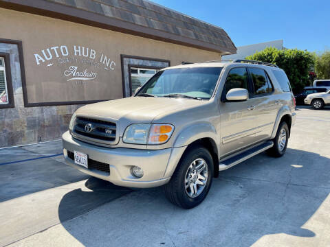 2004 Toyota Sequoia for sale at Auto Hub, Inc. in Anaheim CA