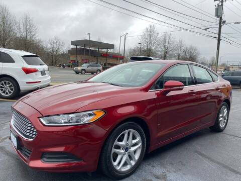 2014 Ford Fusion for sale at Viewmont Auto Sales in Hickory NC