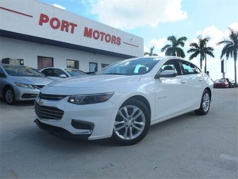 2016 Chevrolet Malibu for sale at Automotive Credit Union Services in West Palm Beach FL