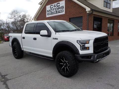 2017 Ford F-150 for sale at C & C MOTORS in Chattanooga TN