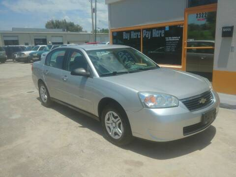 2006 Chevrolet Malibu for sale at QUALITY AUTO SALES OF FLORIDA in New Port Richey FL
