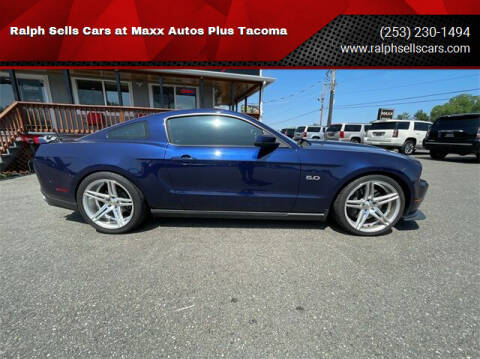 2011 Ford Mustang for sale at Ralph Sells Cars at Maxx Autos Plus Tacoma in Tacoma WA