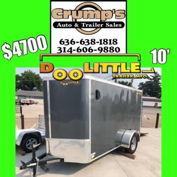 2021 Doolittle 10' Enclosed Cargo Trailer