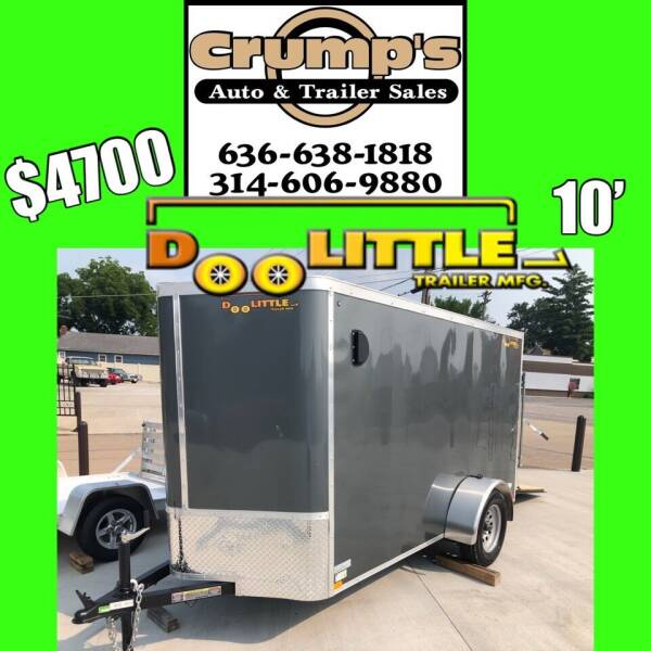 2021 Doolittle 10' Enclosed Cargo Trailer for sale at CRUMP'S AUTO & TRAILER SALES in Crystal City MO