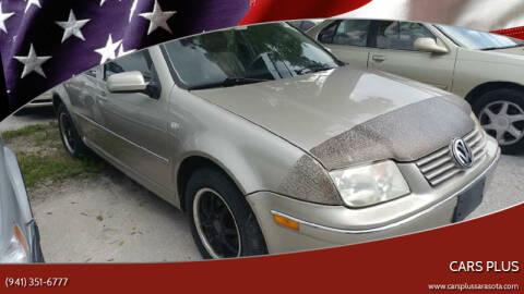2004 Volkswagen Jetta for sale at Cars Plus in Sarasota FL