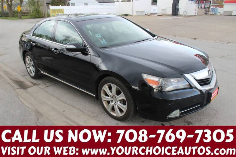 2009 Acura RL for sale at Your Choice Autos in Posen IL