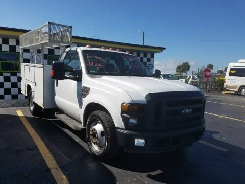 2008 Ford F-350 Super Duty for sale at AUTO CARE CENTER INC in Fort Pierce FL