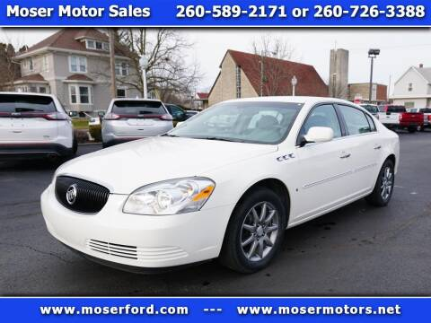 2006 Buick Lucerne for sale at Moser Motors Of Portland in Portland IN